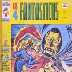 Cómics: 4 FANTASTICOS Nº4. VOLUMEN 3. EDITORIAL VÉRTICE. STAN LEE Y JACK KIRBY. Lote 73495919