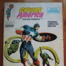 Cómics: COMIC CAPITÁN AMÉRICA: ¡DETENED AL CYBORG! (1.970) DE VÉRTICE. EDICIÓN ESPECIAL MARVEL. Lote 73599099