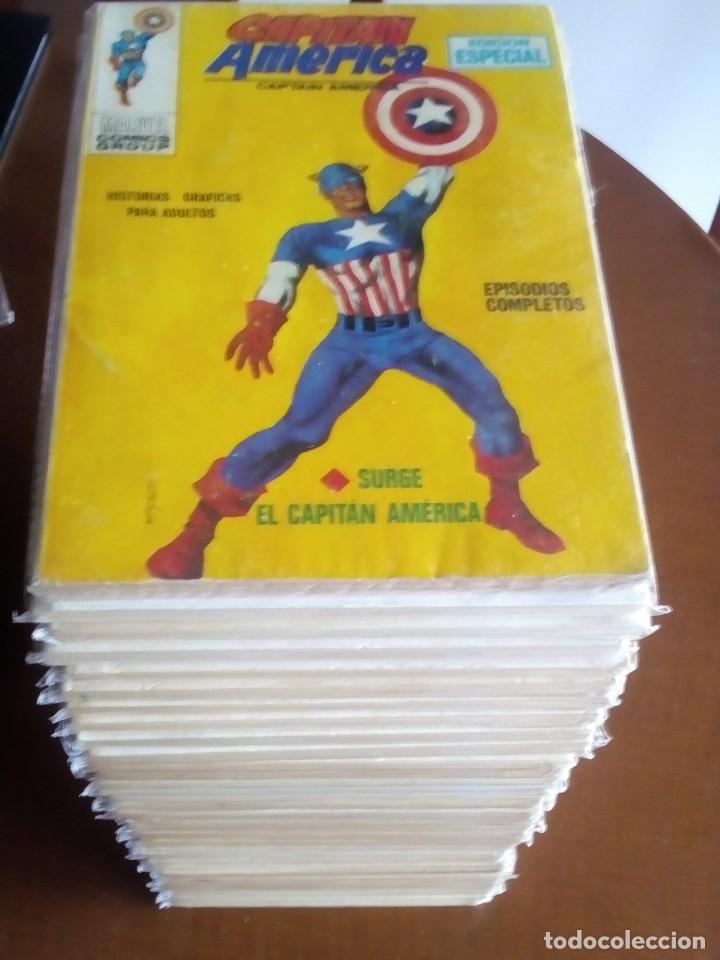 CAPITAN AMERICA N-1 AL 36 COMPLETA (Tebeos y Comics - Vértice - Capitán América)
