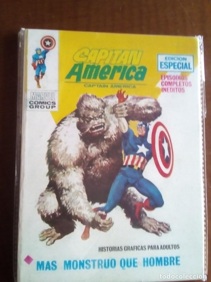 Cómics: CAPITAN AMERICA N-1 AL 36 COMPLETA - Foto 38 - 73629779