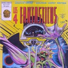 Cómics: 4 FANTÁSTICOS Nº31. V3. EDITORIAL VÉRTICE, 1979. STAN LEE Y JACK KIRBY. Lote 73697555