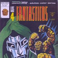 Cómics: 4 FANTÁSTICOS Nº33. V3. EDITORIAL VÉRTICE, 1979. STAN LEE Y JACK KIRBY. Lote 73698499