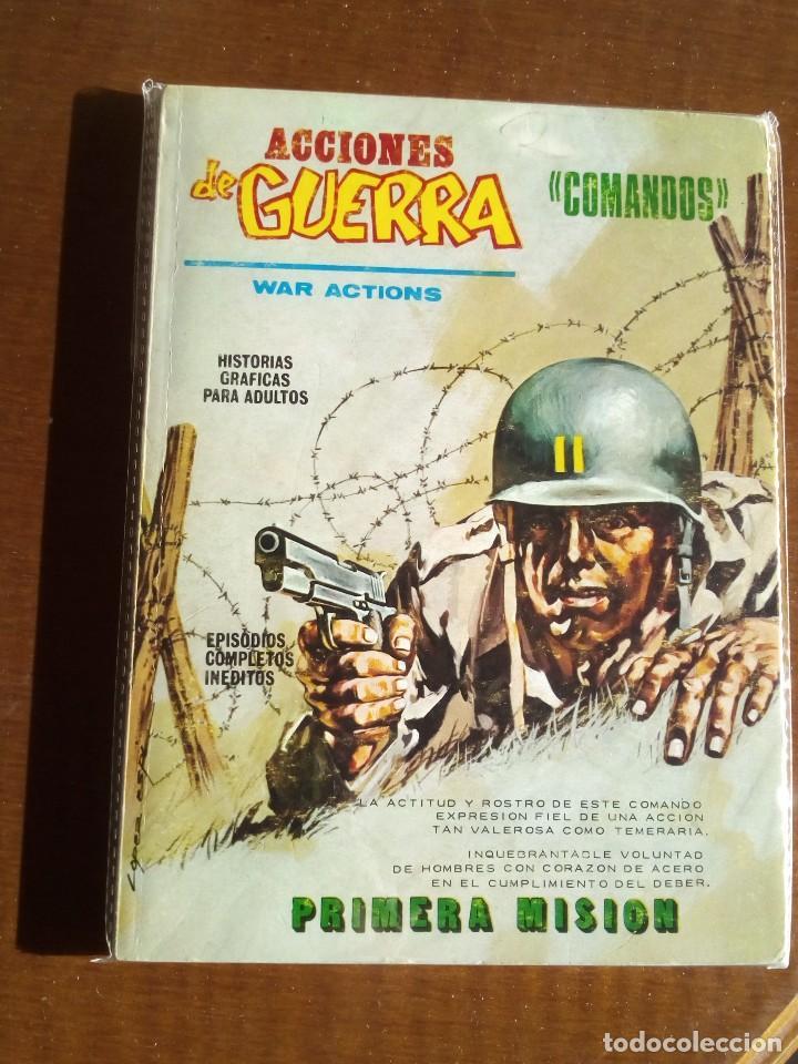 ACCIONES DE GUERRA N 1 (Tebeos y Comics - Vértice - Otros)
