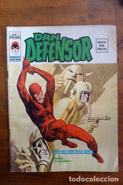 DAN DEFENSOR. VOL. 2 ; Nº 1 : UNOS DÓLARES PARA MORIR (Tebeos y Comics - Vértice - Dan Defensor)