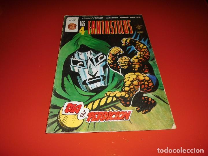 LOS 4 FANTASTICOS VOL. 3 Nº 33 MUNDI COMICS VERTICE (Tebeos y Comics - Vértice - 4 Fantásticos)