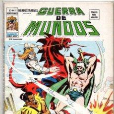 Cómics: COMIC VERTICE 1976 HEROES MARVEL VOL2 Nº 23 GUERRA DE MUNDOS (EXCELENTE ESTADO). Lote 74069143