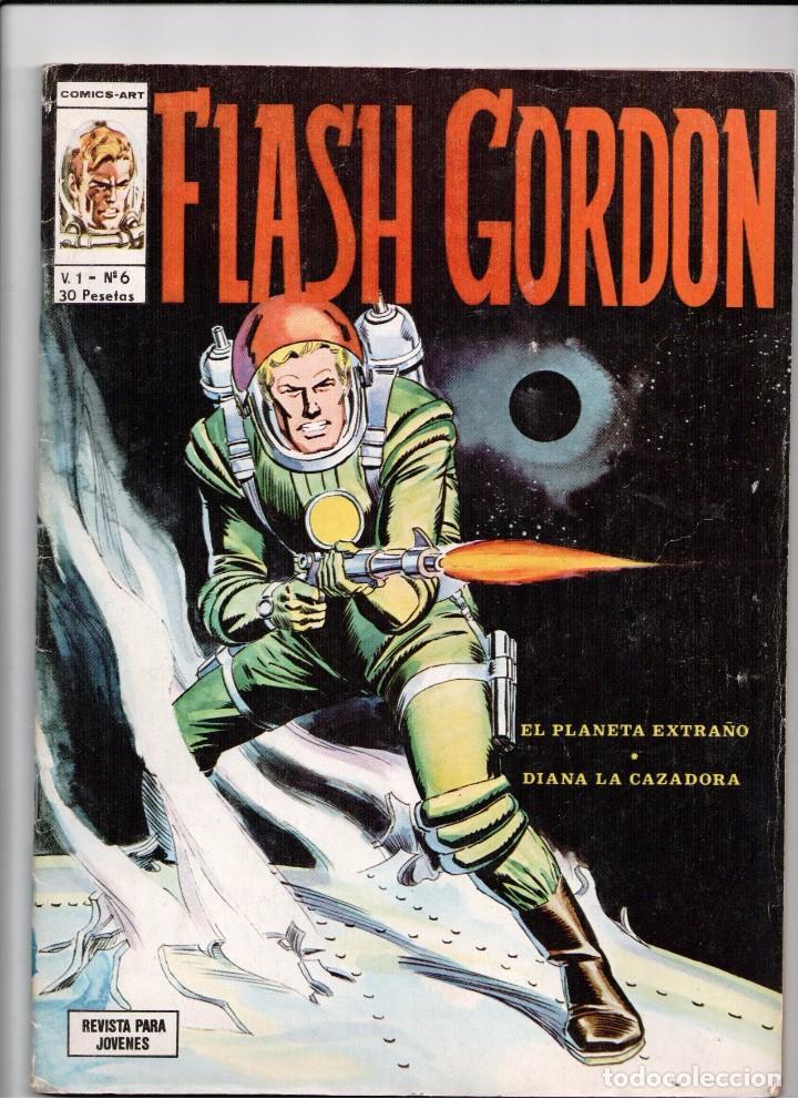 FLASH GORDON V. 1 Nº 6 (Tebeos y Comics - Vértice - Flash Gordon)