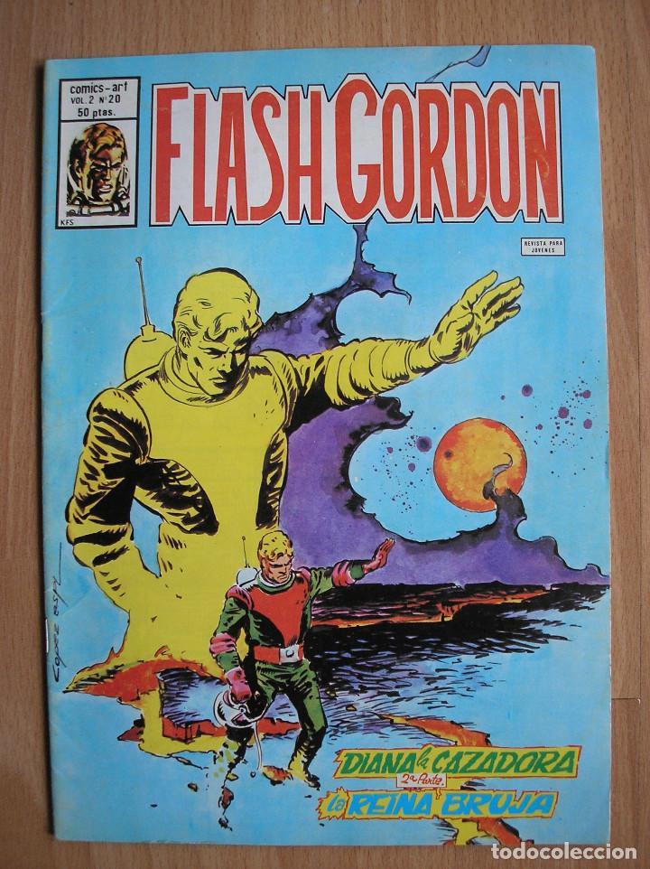FLASH GORDON COMICS ART VOL 2 VERTICE Nº 20 - POSIBILIDAD DE ENTREGA EN MANO EN MADRID (Tebeos y Comics - Vértice - Flash Gordon)