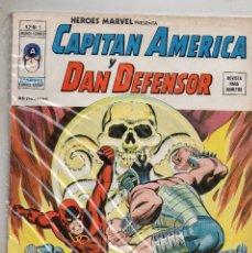 Cómics: COMIC VERTICE 1975 HEROES MARVEL VOL2 Nº 5 CAPITAN MARVEL Y DAN DEFENSOR (EXCELENTE). Lote 74461303