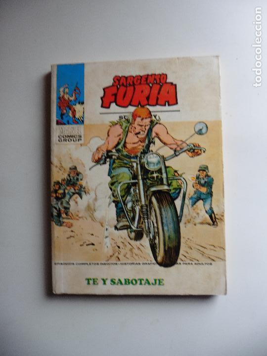 SARGENTO FURIA Nº 24 VERTICE (Tebeos y Comics - Vértice - Furia)