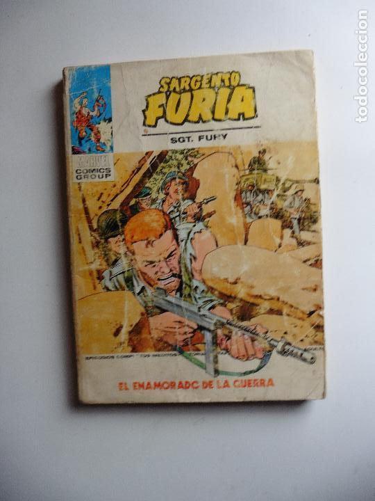 SARGENTO FURIA Nº 23 VERTICE (Tebeos y Comics - Vértice - Furia)