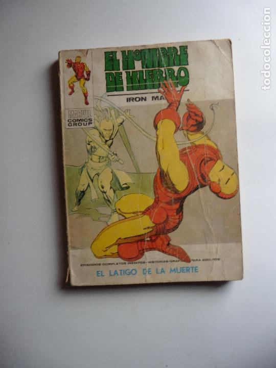 EL HOMBRE DE HIERRO Nº VERTICE (Tebeos y Comics - Vértice - Hombre de Hierro)