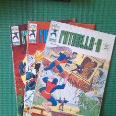 Cómics: LOTE DE 3 NÚMEROS DE LA PATRULLA X VOLÚMEN 3 - NÚMEROS 9, 21 Y 22 -. Lote 75971775