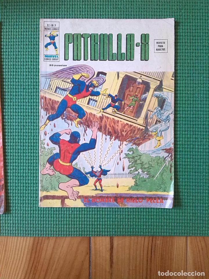 Cómics: Lote de 3 números de La Patrulla X Volúmen 3 - números 9, 21 y 22 - - Foto 2 - 75971775