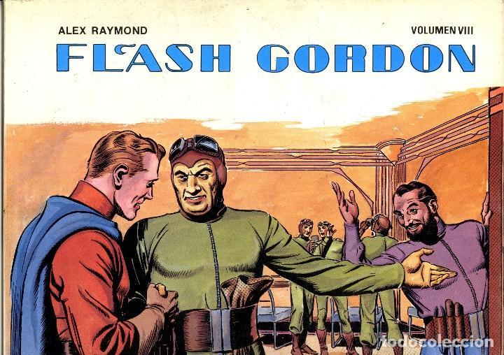 FLASH GORDON. . VOLUMEN VIII. ALEX RAYMOND. EDICIONES B.O. (RF.MA) (Tebeos y Comics - Vértice - Flash Gordon)