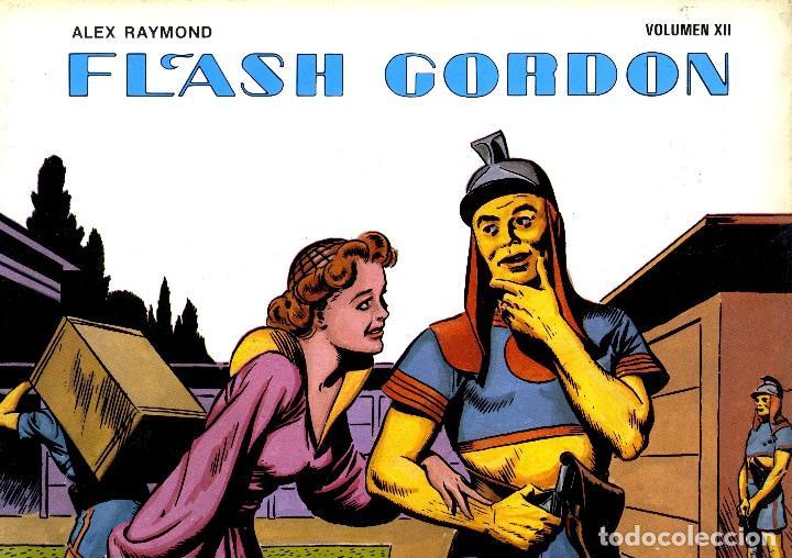 FLASH GORDON. . VOLUMEN XII. ALEX RAYMOND. EDICIONES B.O. (RF.MA) (Tebeos y Comics - Vértice - Flash Gordon)