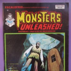 Cómics: ESCALOFRIO Nº 12, MONSTERS UNLEASHED Nº 4 VERTICE ¡¡¡¡BASTANTE BUEN ESTADO!!!!!. Lote 76171451