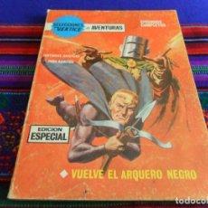 Cómics: VÉRTICE VOL. 1 SELECCIONES VÉRTICE Nº 15 VUELVE EL ARQUERO NEGRO. 25 PTS. 1968. MBE Y DIFÍCIL.. Lote 76595347