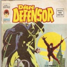 Cómics: VÉRTICE VOL. 2 DAN DEFENSOR Nº 4 - 1974 - 30 PTS - LA MUERTE RONDA LA CIUDAD. Lote 77248617