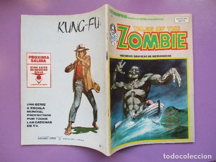 Cómics: ESCALOFRIO Nº 8, TALES OF THE ZOMBIE Nº 3 ¡¡¡¡ MUY BUEN ESTADO !!!! - Foto 3 - 77449525