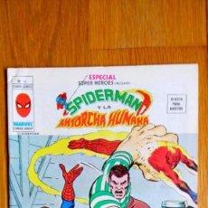 Cómics: ESPECIAL SUPER HEROES VERTICE 14. SPIDERMAN Y LA ANTORCHA HUMANA.. Lote 108784632