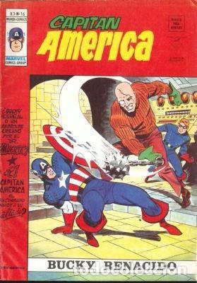 CAPITÁN AMÉRICA VOLUMEN 3 Nº 16. VERTICE. (Tebeos y Comics - Vértice - V.3)