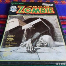 Cómics: VÉRTICE VOL. 1 ESCALOFRÍO Nº 2 TALES OF THE ZOMBIE Nº 1. 1973. 30 PTS. EL ALTAR DEL CONDENADO. BE.. Lote 77727385