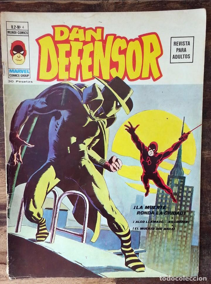 DAN DEFENSOR V2 Nº 4 VERTICE - MUNDI COMICS 1974 MARVEL (Tebeos y Comics - Vértice - Dan Defensor)