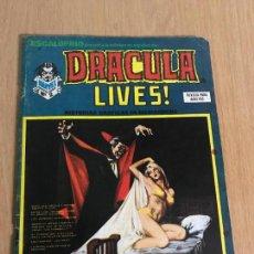 Cómics: ESCALOFRIO Nº 7. DRACULA LIVES! Nº 2. VERTICE 1974. PORTADA LOPEZ ESPI DIFERENTE A LA ORIGINAL.. Lote 78429929