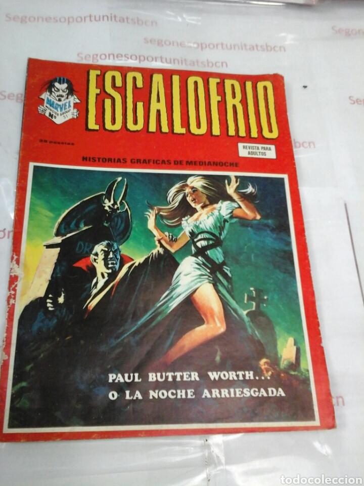 ESCALOFRIO - N°51 - VÉRTICE (Tebeos y Comics - Vértice - Terror)