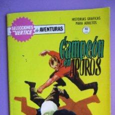 Cómics: SELECCIONES VERTICE DE AVENTURAS Nº 15, GRAPA, ¡¡¡¡MUY BUEN ESTADO Y DIFICIL!!!. Lote 79058033