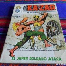 Cómics: VÉRTICE VOL. 1 KAZAR KA ZAR KA-ZAR Nº 7. 30 PTS. 1974. EL SÚPER SOLDADO ATACA.. Lote 79756385
