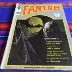 Cómics: VÉRTICE VOL. 1 FANTOM Nº 37. 1973. 30 PTS. CON FRANKENSTEIN. RARO.. Lote 79756653
