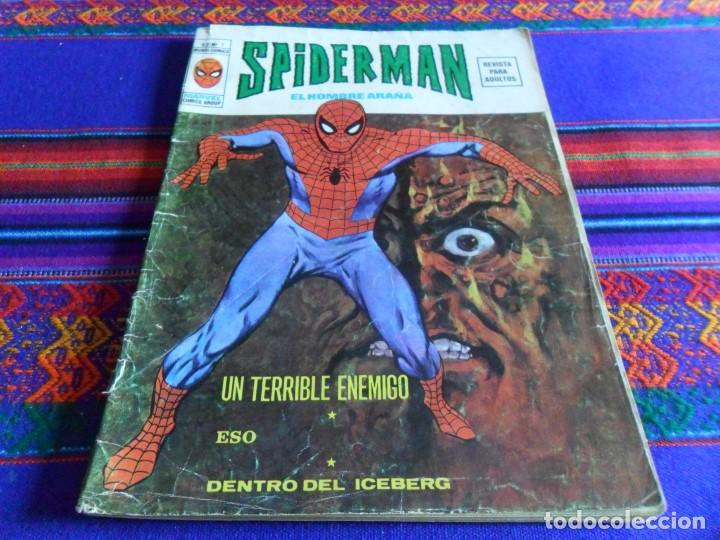 VÉRTICE VOL. 2 SPIDERMAN NºS 1 2 3 4 5 6 7 8 9 10. COMPLETA. 30 PTS. AÑO 1974. MUY DIFÍCIL!!!!! (Tebeos y Comics - Vértice - V.2)