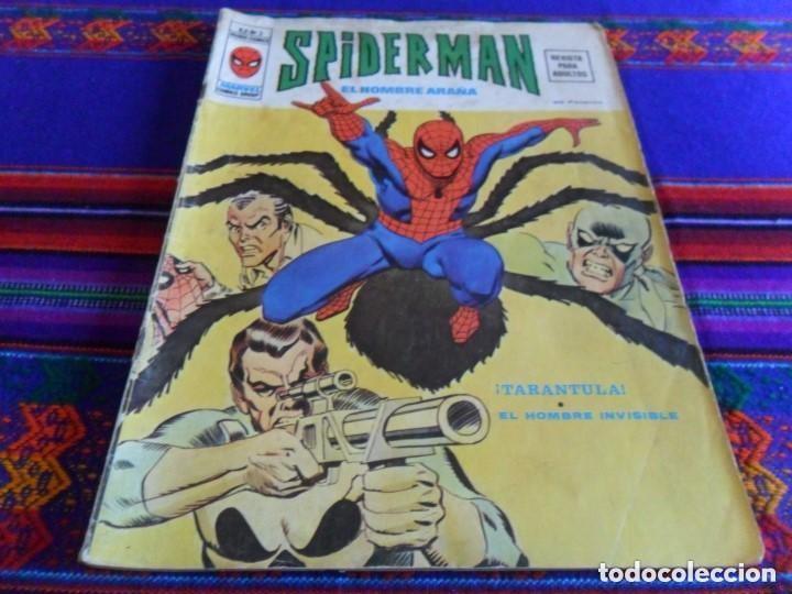 Cómics: VÉRTICE VOL. 2 SPIDERMAN NºS 1 2 3 4 5 6 7 8 9 10. COMPLETA. 30 PTS. AÑO 1974. MUY DIFÍCIL!!!!! - Foto 2 - 117127592