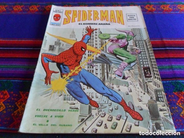 Cómics: VÉRTICE VOL. 2 SPIDERMAN NºS 1 2 3 4 5 6 7 8 9 10. COMPLETA. 30 PTS. AÑO 1974. MUY DIFÍCIL!!!!! - Foto 3 - 117127592