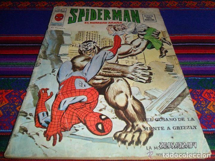 Cómics: VÉRTICE VOL. 2 SPIDERMAN NºS 1 2 3 4 5 6 7 8 9 10. COMPLETA. 30 PTS. AÑO 1974. MUY DIFÍCIL!!!!! - Foto 4 - 117127592