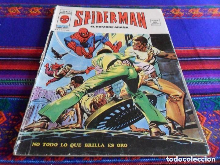 Cómics: VÉRTICE VOL. 2 SPIDERMAN NºS 1 2 3 4 5 6 7 8 9 10. COMPLETA. 30 PTS. AÑO 1974. MUY DIFÍCIL!!!!! - Foto 7 - 117127592