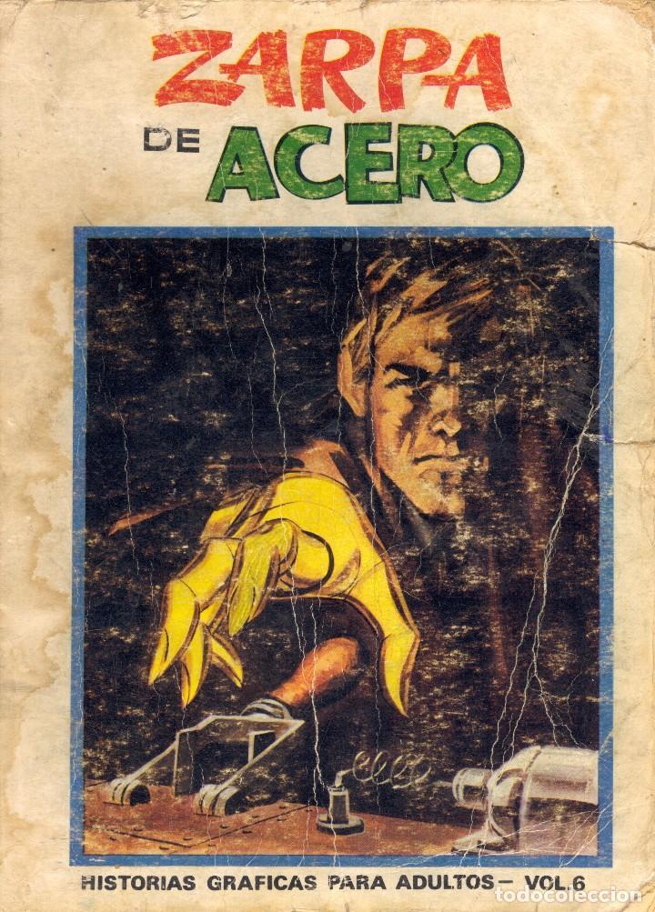 ZARPA DE ACERO. VOLUMEN 6. EDICIÓN ESPECIAL. DIBUJOS DE JESÚS BLASCO (Tebeos y Comics - Vértice - Otros)