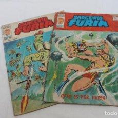 Cómics: 2 COMIC SARGENTO FURIA, Nº 27 Y 30. Lote 80037853