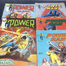 Cómics: POWER MAN, LOTE DE 5 EJEMPLARES Nº 2,6,7,8,9 ( VERTICE , EDICIONES SURCO ). Lote 80208057