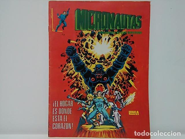 MICRONAUTAS ...PROCEDENTES DE OTRA DIMENSIÓN Nº 1 - MUNDO COMICS - LÍNEA 83 - EDICIONES SURCO. (Tebeos y Comics - Vértice - Surco / Mundi-Comic)