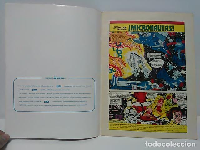 Cómics: Micronautas ...Procedentes de otra dimensión Nº 1 - Mundo Comics - Línea 83 - Ediciones Surco. - Foto 3 - 80423173