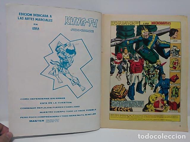 Cómics: Micronautas ...Procedentes de otra dimensión Nº 5 - Mundo Comics - Línea Surco - Ediciones Surco. - Foto 3 - 80423425