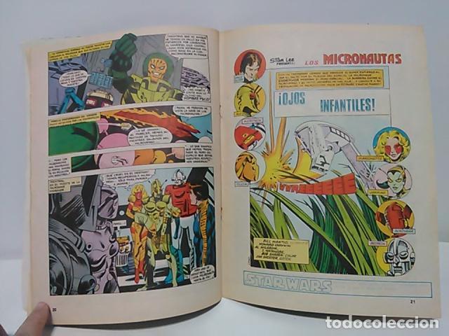 Cómics: Micronautas ...Procedentes de otra dimensión Nº 5 - Mundo Comics - Línea Surco - Ediciones Surco. - Foto 4 - 80423425