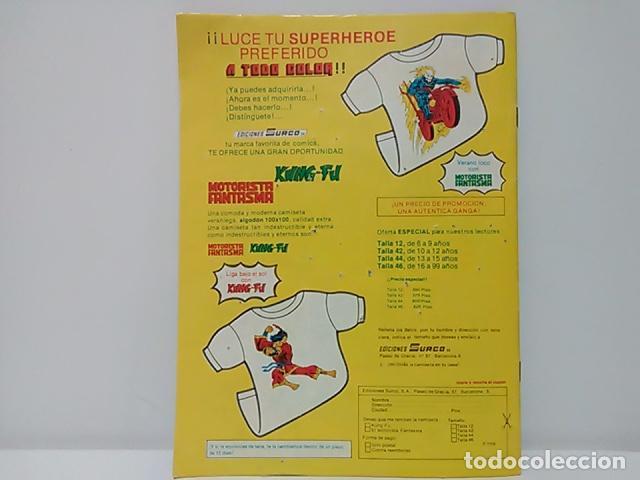 Cómics: Judo-Karate Kung-Fu Relatos Salvajes Nº 9 - Mundo Comics - Línea Surco - Ediciones Surco. - Foto 3 - 80424517