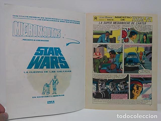 Cómics: Judo-Karate Kung-Fu Relatos Salvajes Nº 9 - Mundo Comics - Línea Surco - Ediciones Surco. - Foto 4 - 80424517