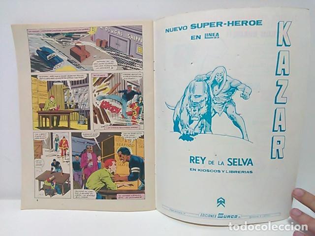 Cómics: Judo-Karate Kung-Fu Relatos Salvajes Nº 9 - Mundo Comics - Línea Surco - Ediciones Surco. - Foto 5 - 80424517