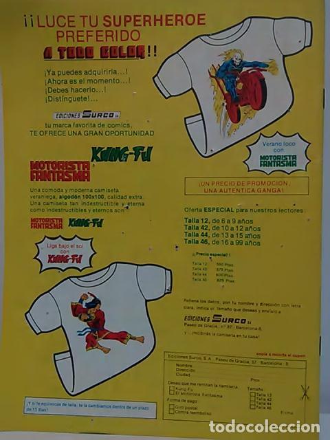 Cómics: Judo-Karate Kung-Fu Relatos Salvajes Nº 9 - Mundo Comics - Línea Surco - Ediciones Surco. - Foto 7 - 80424517