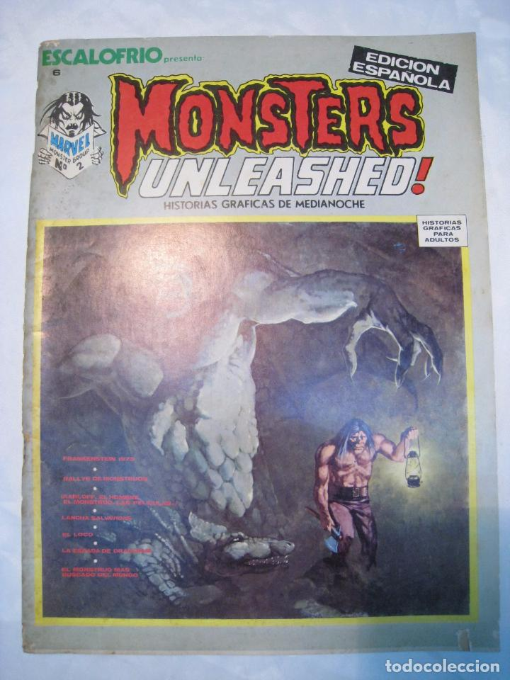 ESCALOFRIO 6: MONSTERS UNLEASHED N. 2 - VERTICE - ORIGINAL (Tebeos y Comics - Vértice - Otros)